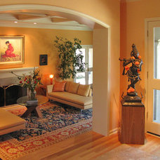 Eclectic Living Room by Irene Turner: Real Estate Sonoma Style™