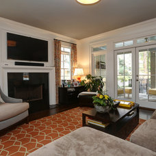 Traditional Living Room by John Willis Homes