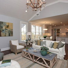 Contemporary Living Room by John Willis Homes