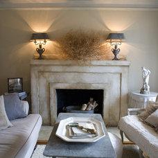 Eclectic Living Room by Debbie Dusenberry, aka CuriousSofa.com