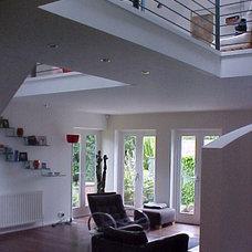 Modern Living Room by Capital Design Studio