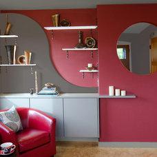Contemporary Living Room by Rhonda Knoche Design