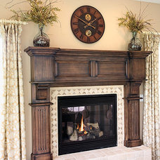 Traditional Living Room by Mullet Cabinet