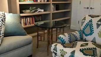 Custom book shelves out of kiln dried dug fir.