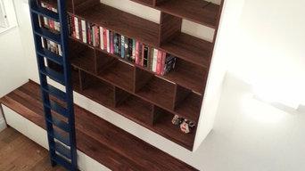 Custom Bookcase, Stockbridge, Edinburgh
