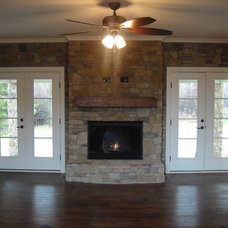 Traditional Living Room by Otero Signature Homes