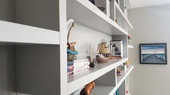 Custom Built-In Shelves, Entertainment Centers and Libraries