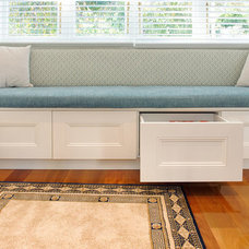 Transitional Living Room by AClever Closet Company