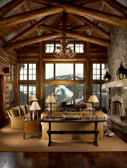 Traditional Living Room by Rocky Mountain Direct