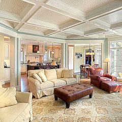traditional living room by Greenside Design Build LLC