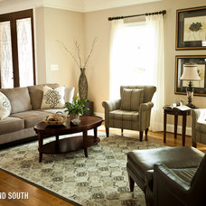Traditional Living Room by Cherry Yount @ Furnitureland South