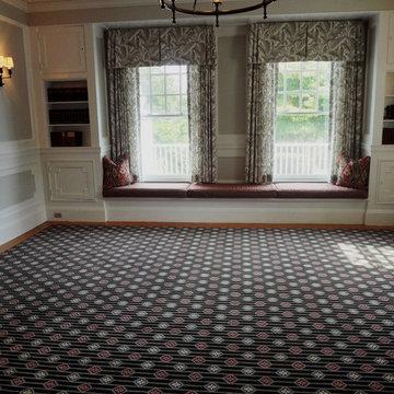 Custom Designed Wool Carpet