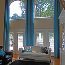 Traditional Living Room by Window Dazzlers by Mar Innovations Inc
