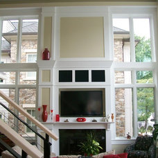 Contemporary Living Room by McConnell & Ewing