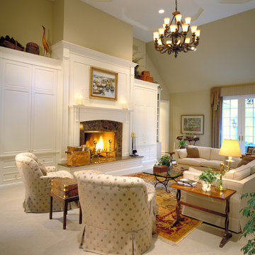 Custom Fireplace & Cabinets-chicago north