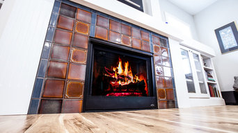 Custom Fireplace, Calming Craftsman