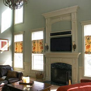 Новые идеи обустройства дома: гостиная комната в классическом стиле