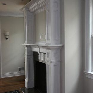 Klassisches Wohnzimmer in New York