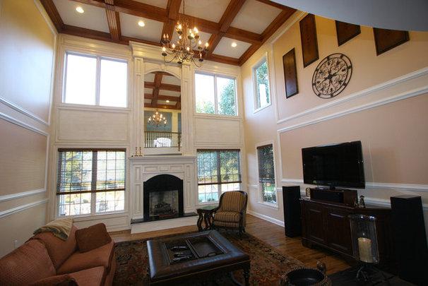 Traditional Living Room by Trim Team NJ