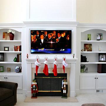 Custom Fireplace mantles, build-ins
