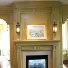 Traditional Living Room by Trim Team NJ