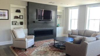 Custom Fireplace Surround Installations