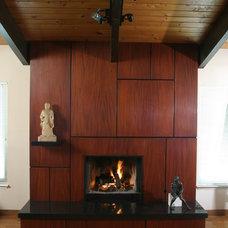 Asian Living Room by Ken Frye Artisan in Wood
