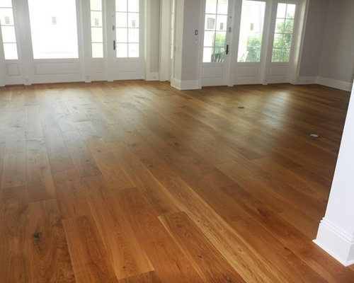 Inspiration For A Craftsman Living Room Remodel In Miami With Medium Tone Hardwood  Floors