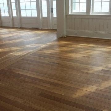 Custom Floors - Living Room