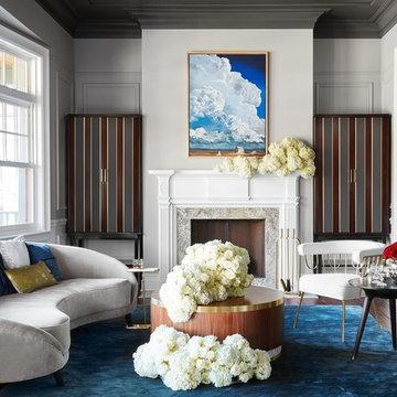 Custom Furniture: Ravenswood Residence