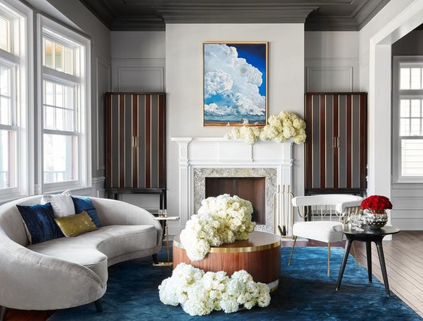 Transitional Living Room by Inspired Interiors