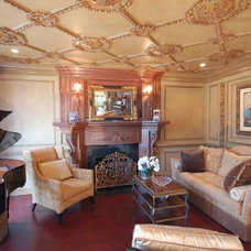 Traditional Living Room by Fabulous Finishes Inc