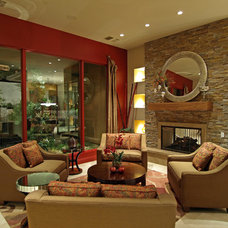 Contemporary Living Room by Marteen Moore Interior Planning
