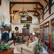 Traditional Living Room by R.A.Hoffman Architects, Inc.