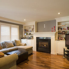 Traditional Living Room by Sawlor Built Homes