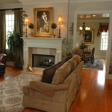 Traditional Living Room by Authentic Pine Floors, Inc.