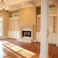 Traditional Living Room by Fitzgerald Construction