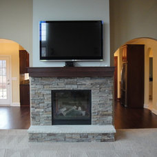 Modern Living Room by Otero Signature Homes