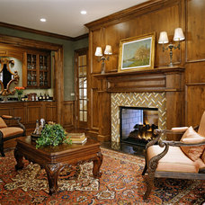 Traditional Living Room by Kellett Construction Company