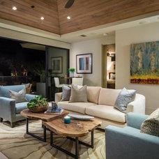 Contemporary Living Room by Blackbird Interiors