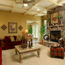 Traditional Living Room by Westbrooke Homes