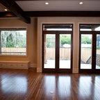 Tiny House Rustic Living Room Burlington By