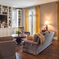 Contemporary Living Room by Tucker Construction Ltd.