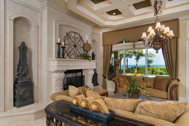 luxury living room furniture with elegant half circle sofa home