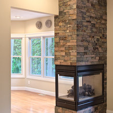 Modern Living Room by Timber Stone, Inc.