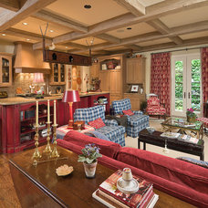 Traditional Living Room by Jack Arnold Companies