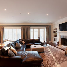 Contemporary Living Room by HUSH