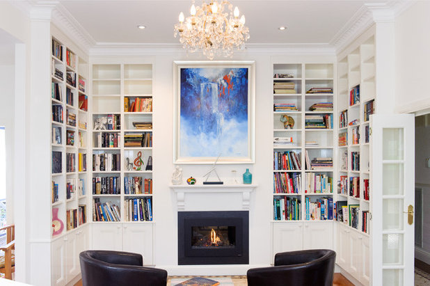 Traditional Living Room by Clever Closet Company