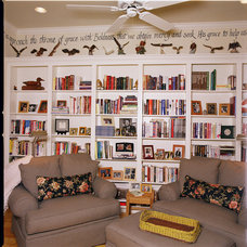 Farmhouse Living Room by Authentic Custom Homes