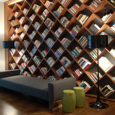 Modern Wall Shelves by Dayoris Custom Woodwork
